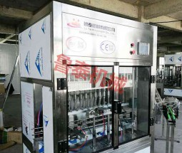 constant pressure gravity 8-head bottling machine