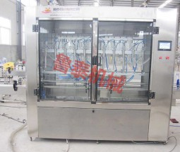 straight-line low vacuum filling machine
