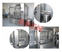 12-head straight-line low vacuum filling machine